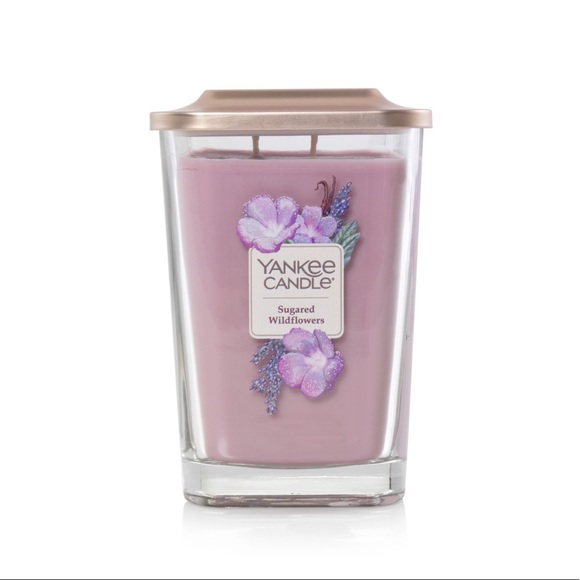 NEW Yankee Candle, sugared wallflowers large